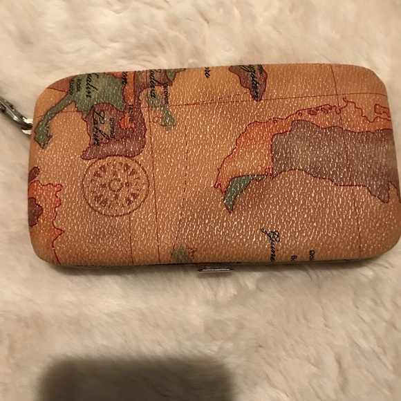 Bags | World Map Wallet | Poshmark